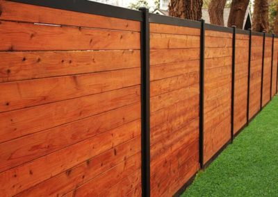 FenceTrac Horizontal Fence System