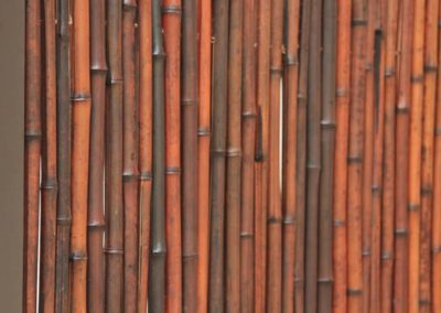FenceTrac With Bamboo Infill
