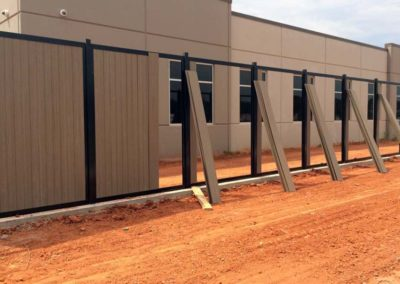 FenceTrac Commercial Privacy Fence