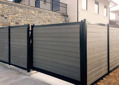 Dumpster Enclosure Composite & Metal Frame