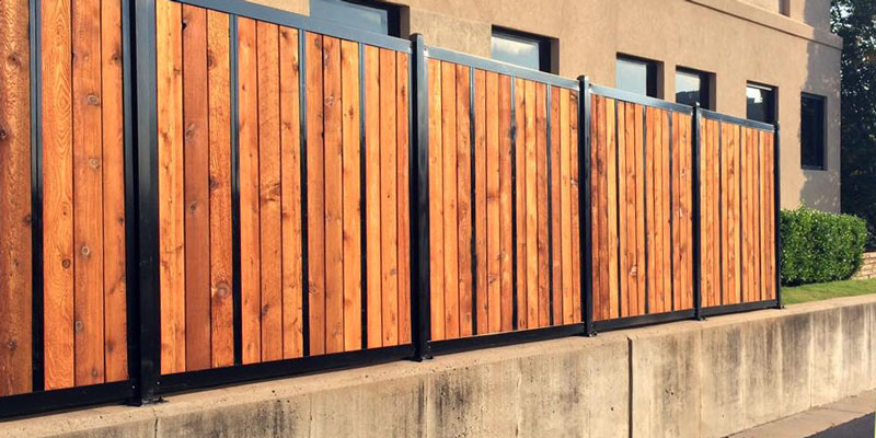 How To Attach Corrugated Metal Wood Fence Cost Vs And: How