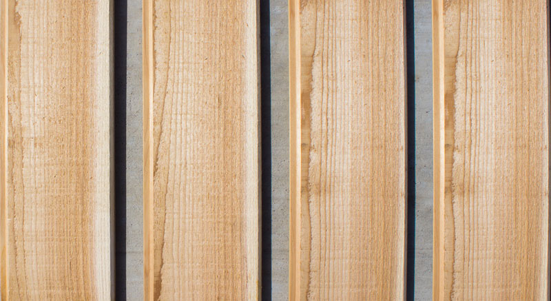 Tongue & Groove Red Cedar Fence