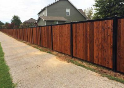HOA Neighborhood Perimeter Privacy Fence