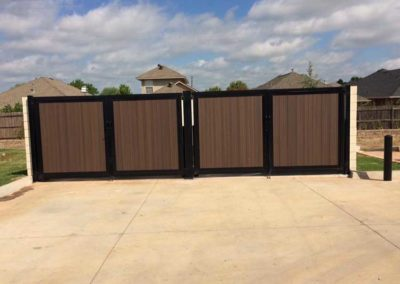 Dumpster Enclosure Privacy Fence