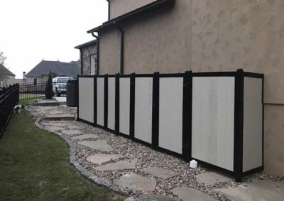 AC Unit Privacy Fence