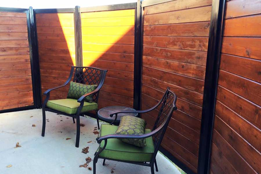 Patio Privacy Fence
