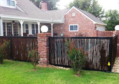 Bamboo Pool Privacy Fence Design