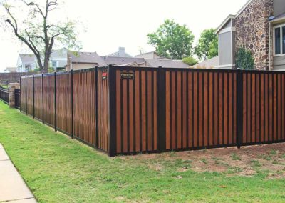 Elegant Strong Privacy Fence