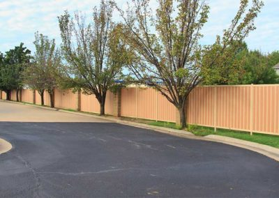 HOA Neighborhood Privacy Fence