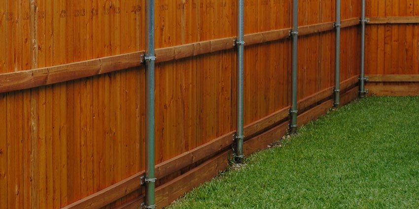 Galvanized Metal Fence Posts