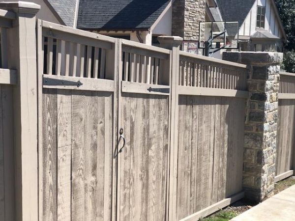 Stain & Seal Semi Solid Fence Stain & Sealer (Slate Gray)