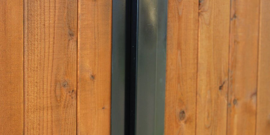 Painted Steel Fence Posts