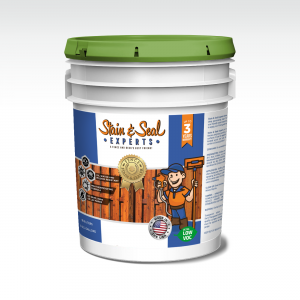 Stain & Seal Semi Solid Fence Stain & Sealer 5 Gallons