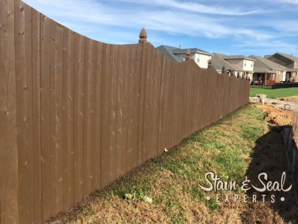 Stain & Seal Semi Solid Fence Stain & Sealer (Chocolate Brown)