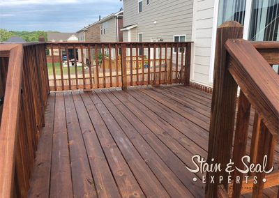Chestnut Brown Deck Stain