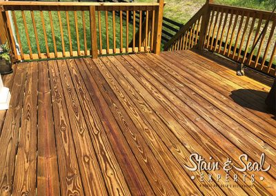 Wet Look Clear Deck Stain