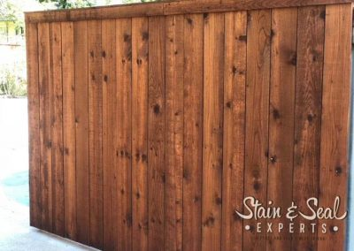 Pecan Fence Stain