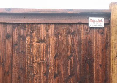 Chestnut Brown Fence Stain