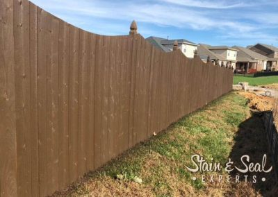 Chocolate Brown Fence Stain