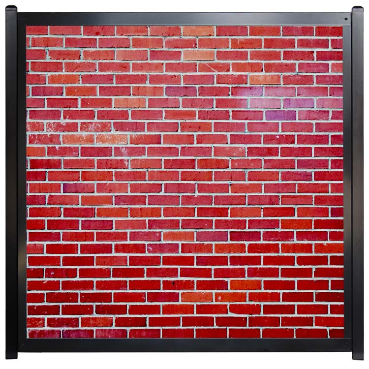 Commercial Architectural Fence Brick Panel
