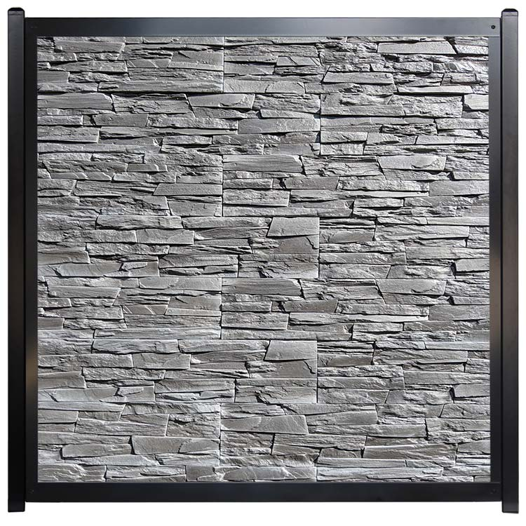 Commercial Architectural Fence Stone Wall