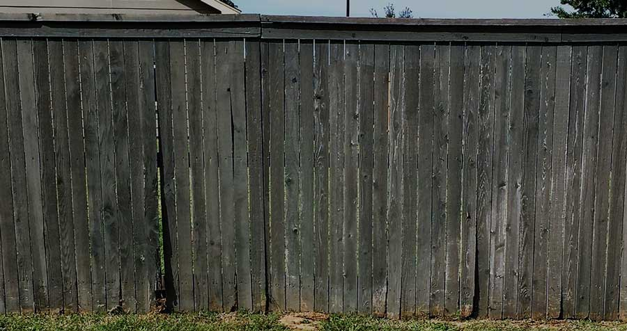 Old Fence With Gaps