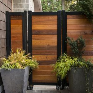 Metal Frame Fence Gate Kit