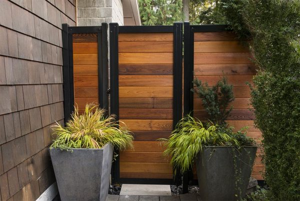 Metal Frame Fence Gate Kit