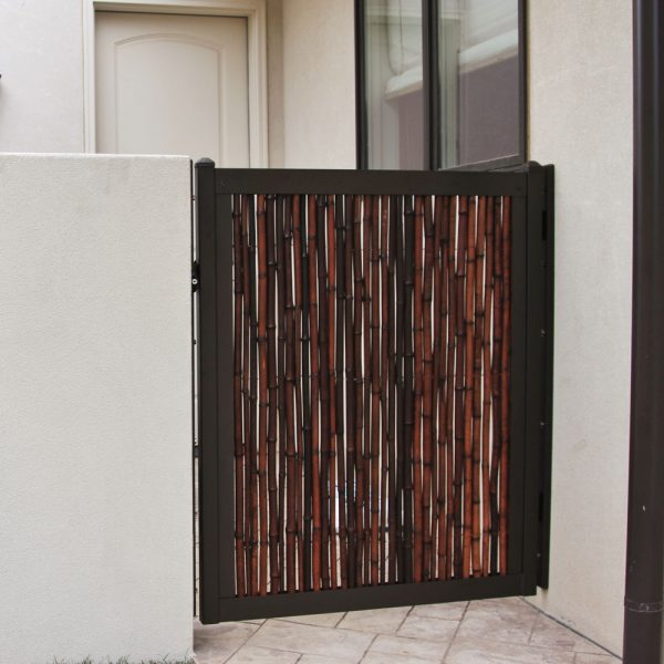 4' Metal Frame Gate Kit (Shown With Bamboo)