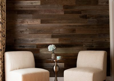 Rewoodd Reclaimed Wood Sitting Area Wall Decor