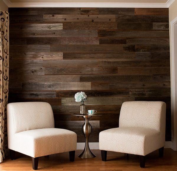 Rewoodd Reclaimed Wood Sitting Area Wall Decor
