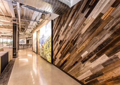 Rewoodd Reclaimed Wood Wall Planks Diagonal
