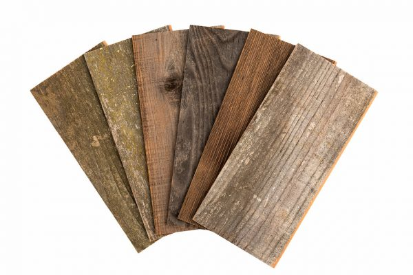 Rewoodd Peel & Stick Reclaimed Wood Wall Planks