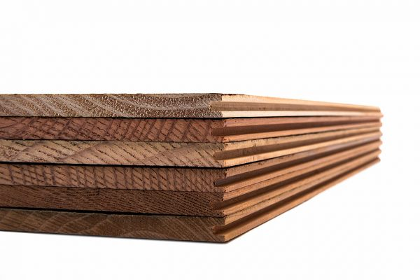 Rewoodd Tongue & Groove Reclaimed Wood Wall Planks