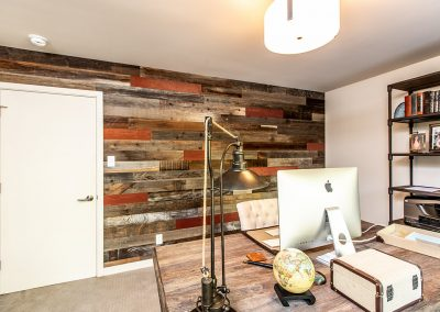 Rewoodd Reclaimed Wood Horizontal Studio Wall Planks
