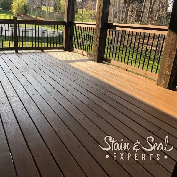 Restorative Stain & Seal Deck Stain 5 Gallons (Sable)