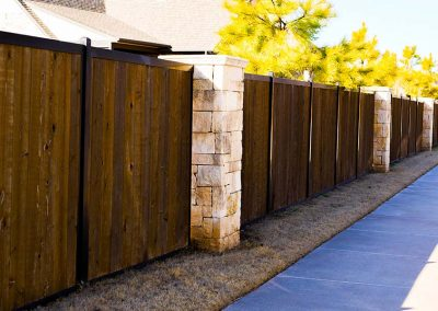 HOA Neighborhood Fence