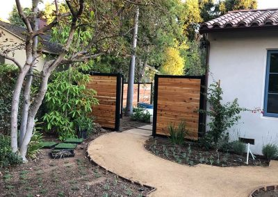 Side Yard Privacy Fence Gate