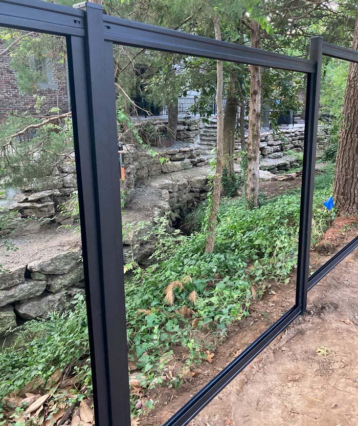 Metal Privacy Fence Frame Kit